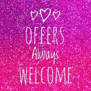 ❤️OFFERS WELCOME❤️